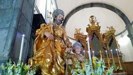 La tavolata di San Giuseppe